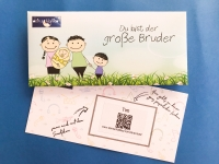 Geschenkkarte Großer Bruder CD